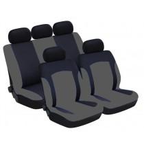 Univerzális üléshuzat UL-TY1686BKG szürke-fekete