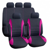 Univerzális üléshuzat UL-TY1842BKP rózsaszín-fekete