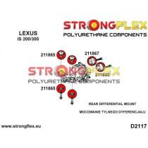 Hátsó differenciálmű felfüggesztő hátsó szilent SPORT STRONGFLEX Lexus IS I 200/300 99-05 IS II 05-13 GS III 05-12