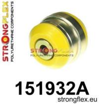 Első alsó összekötő hátsó szilent 70 mm Strongflex Renault Megane II 02-08 Megane II RS, R26, CUP 02-08 Scenic II 03-09 Grand Scenic II 03-09