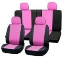 Univerzális üléshuzat UL-AG23001P rózsaszín-fekete