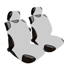 2db-os Trikó üléshuzat szürke szivacsos anyag UL-AG23087GR