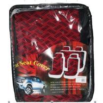Univerzális fekete-piros üléshuzat szett  UL-AG23002A/BKR
