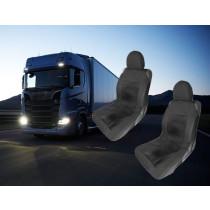 Kamion üléshuzat -2db Fekete