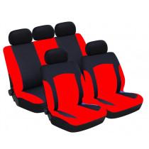 Univerzális üléshuzat UL-TY1686BKR piros -fekete