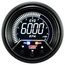 Óra, kijelző, műszer  AUTO GAUGE EVO PEAK 60mm - Fordulatszámmérő