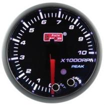 Óra, kijelző, műszer  AUTO GAUGE PK 52mm 10 színű háttérvilágítás  - Fordulatszámmérő