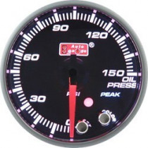 Óra, kijelző, műszer  AUTO GAUGE PK 52mm 10 színű háttérvilágítás  - Olajnyomás