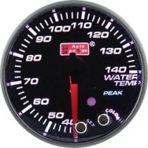Óra, kijelző, műszer  AUTO GAUGE PK 52mm 10 színű háttérvilágítás  - Vízhőmérséklet