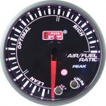 Óra, kijelző, műszer  AUTO GAUGE PK 60mm 10 színű háttérvilágítás  - AFR