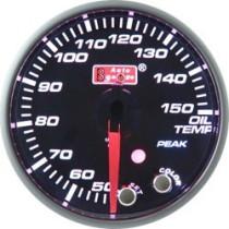 Óra, kijelző, műszer  AUTO GAUGE PK 60mm 10 színű háttérvilágítás  - Olajhőmérséklet