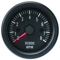 Óra, kijelző, műszer  AUTO GAUGE TRUCK GAUGE 52mm - Fordulatszámmérő 0-8000RPM