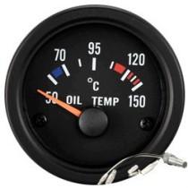 Óra, kijelző, műszer  AUTO GAUGE TRUCK GAUGE 52mm - Olajhőmérséklet  50-150C