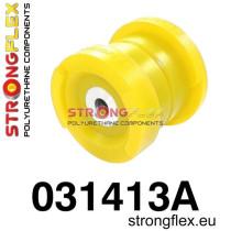 Strongflex Hátsó bölcső első  szilent SPORT Sárga BMW E46