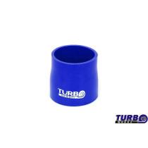 Szilikon szűkítő egyenes TurboWorks Kék  51-70mm