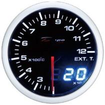 DEPO DUAL 52 mm Turbónyomásmérő óra