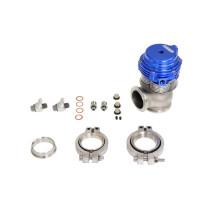 Külső Wastegate TurboWorks 38mm vízhűtéses 2,5 Bar V-Band Kék Dízel tuning