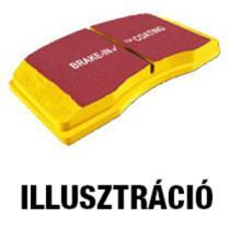 EBC DP41501R Yellowstuff betét - hátsó
