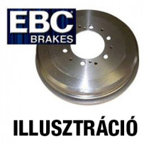 EBC DM021 Prémium fékdob (Brake Drums) - hátsó