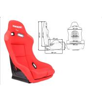 Sport, verseny ülés K109 BRIDE Piros LOW MAX