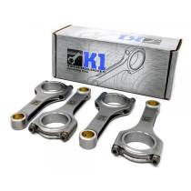 K1 Technologies Mitsubishi (4G63/7 csavaros) kovácsolt hajtókar szett I-profilos 150mm