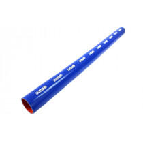 Szilikon összekötő, egyenes TurboWorks PRO Kék 70mm 100cm