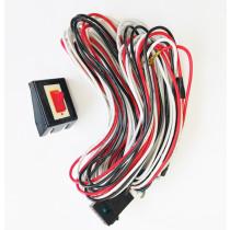 Univerzális kapcsoló + kábelköteg  kiegészítő lámpahoz