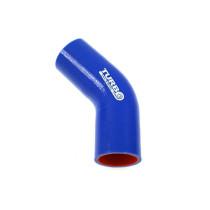 Szilikon könyök Turboworks PRO kék 45 fok 102mm