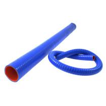 Szilikon összekötő, egyenes flexibilis TurboWorks Kék 76 mm 100cm