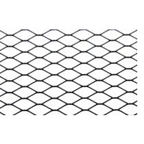 ALUMINIUM MESH Hűtőmaszk, hűtőrács DIAMOND Fekete 120 * 40cm