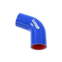Szilikon könyök TurboWorks PRO Kék 67 fok 70mm