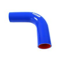 Szilikon könyök TurboWorks PRO Kék 90 fok 51 mm XL