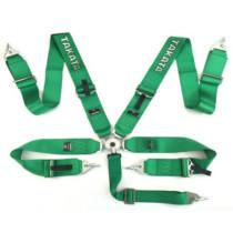Sport Biztonsági öv Takata replica 5p 3-inch Zöld