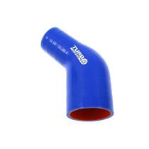 Szilikon szűkító Turboworks PRO kék 45 fok 63-76mm