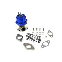 Külső wastegate TurboWorks 34mm 0,5 Bár  Kék